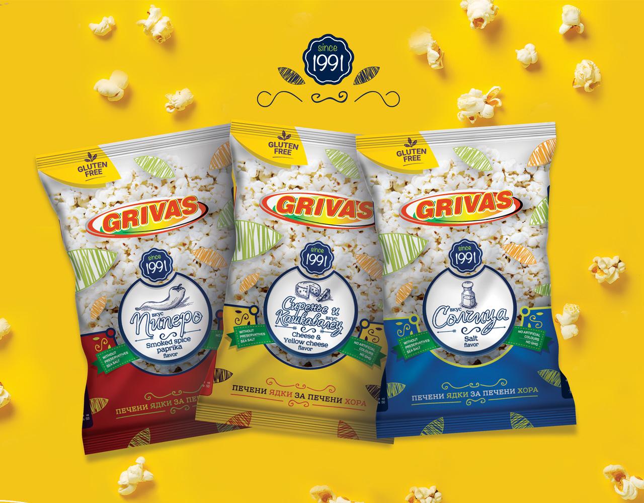 Grivas-popcorn